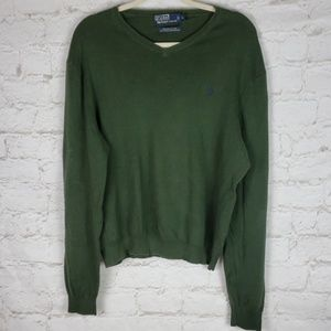 Polo by Ralph Lauren pima cotton sweater size L